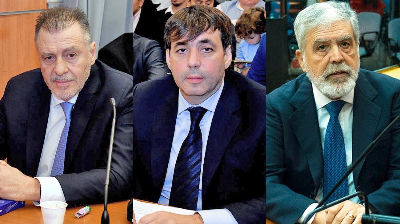 Banquillo. López y De Sousa podrían ser liberados en breve. De Vido insistirá con la prisión domiciliaria: en diciembre cumple 70.