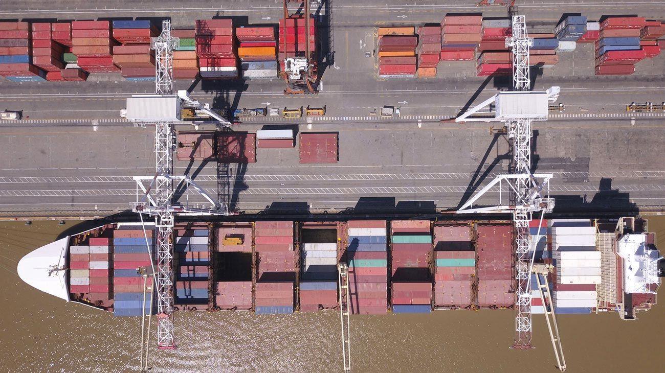 Nuevo modelo. Un solo operador y una inversión de US$ 1.900 millones para la terminal porteña.
