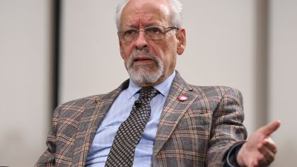 Horacio Verbitsky, en la entrevista con Jorge Fontevecchia.