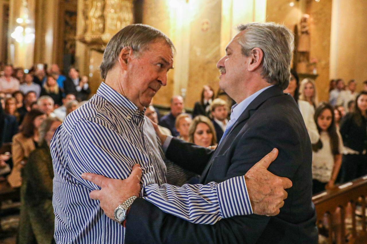 Schiaretti y Alberto Fernández