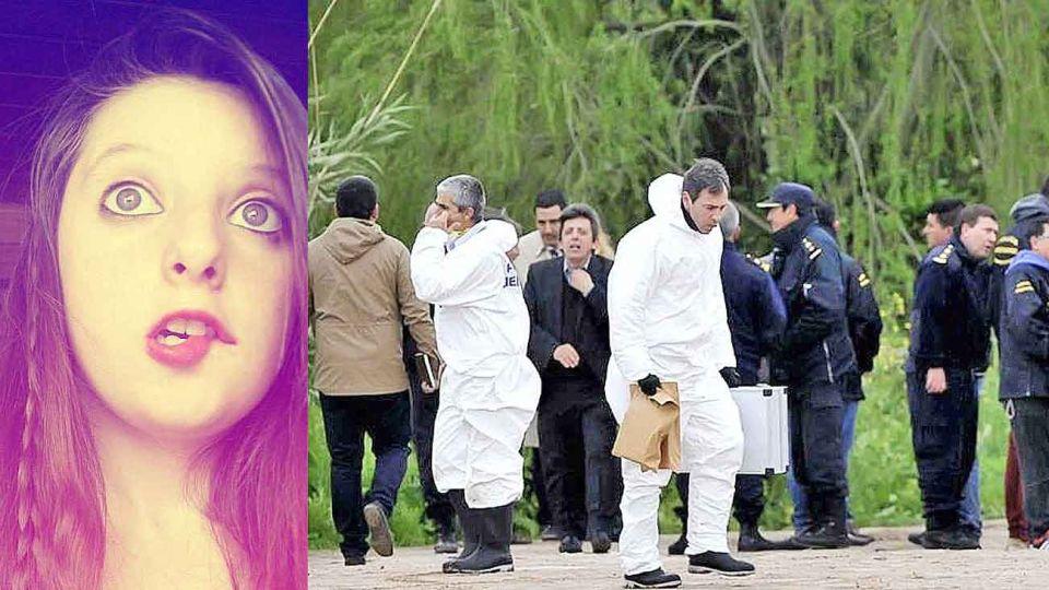 Tragico final. Evelyn Herrera desapareció mientras se dirigía al colegio. Su cuerpo fue hallado 15 días después, en un sitio que había sido rastrillado cuatro veces.