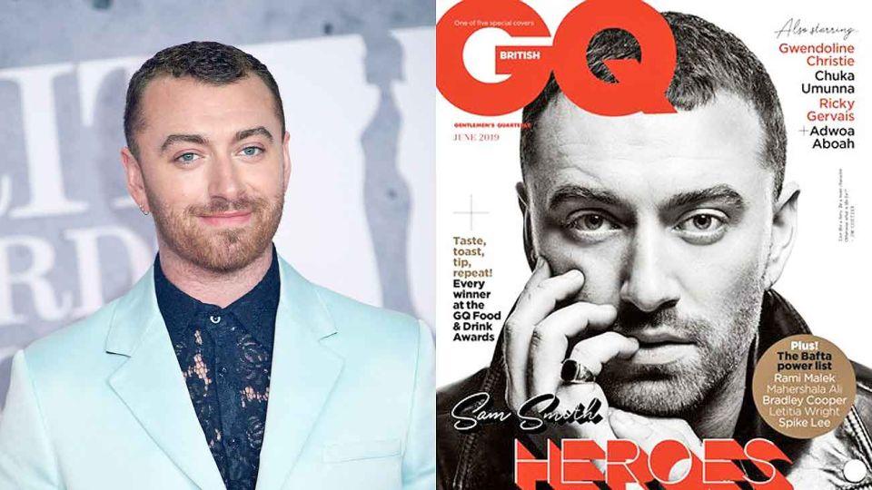 """Decisión. El músico pidió que no lo llamen """"él""""  ni """"ella"""". Su confesión, tapa de GQ en Inglaterra."""