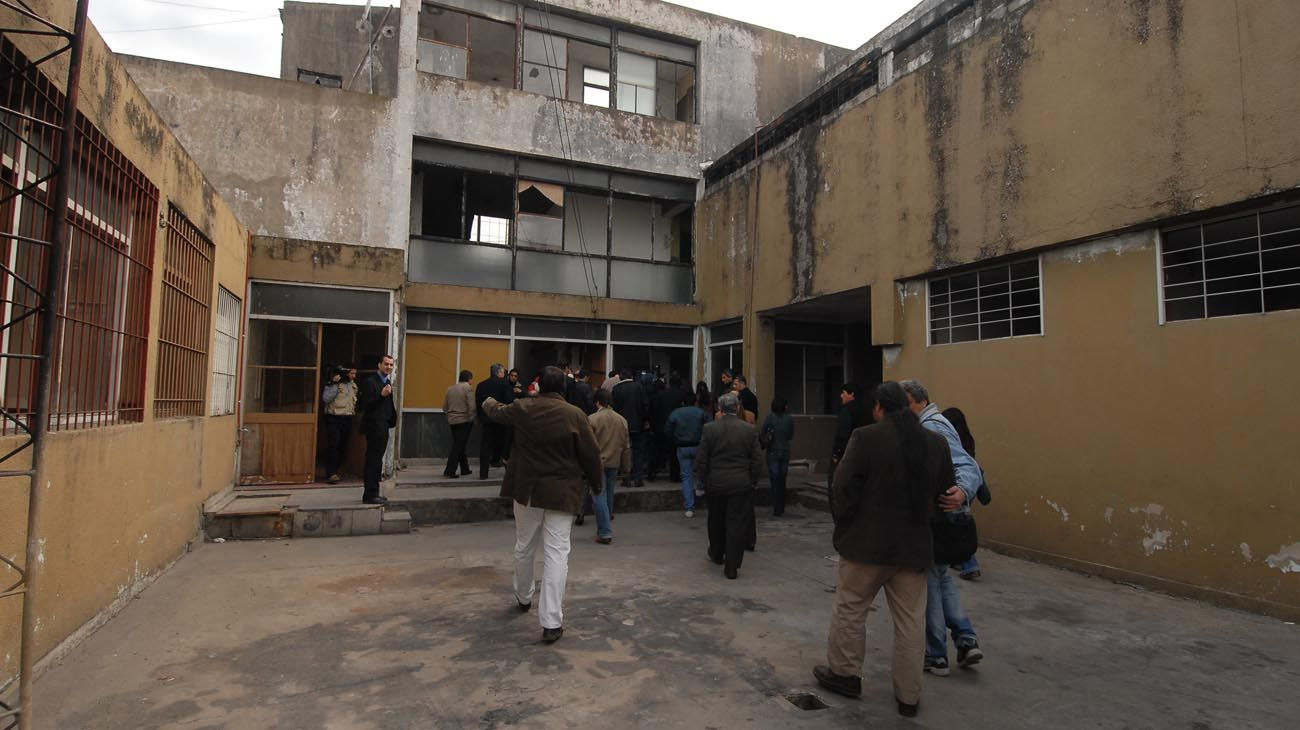 Centro de detención El Pozo en Banfield, provincia de Buenos Aires.