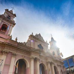 Misa estacional solemnidad del Señor del Milagro en Salta.