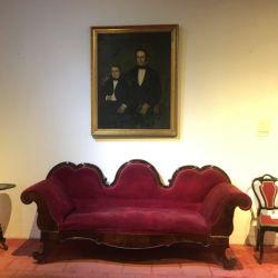 Sala familiar en el Museo Uriburu.