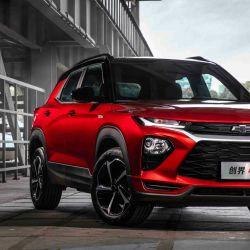 Versión RS del nuevo Chevrolet Trailblazer lanzado en el mercado chino.