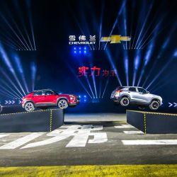 Presentación del nuevo Chevrolet Trailblazer en China.