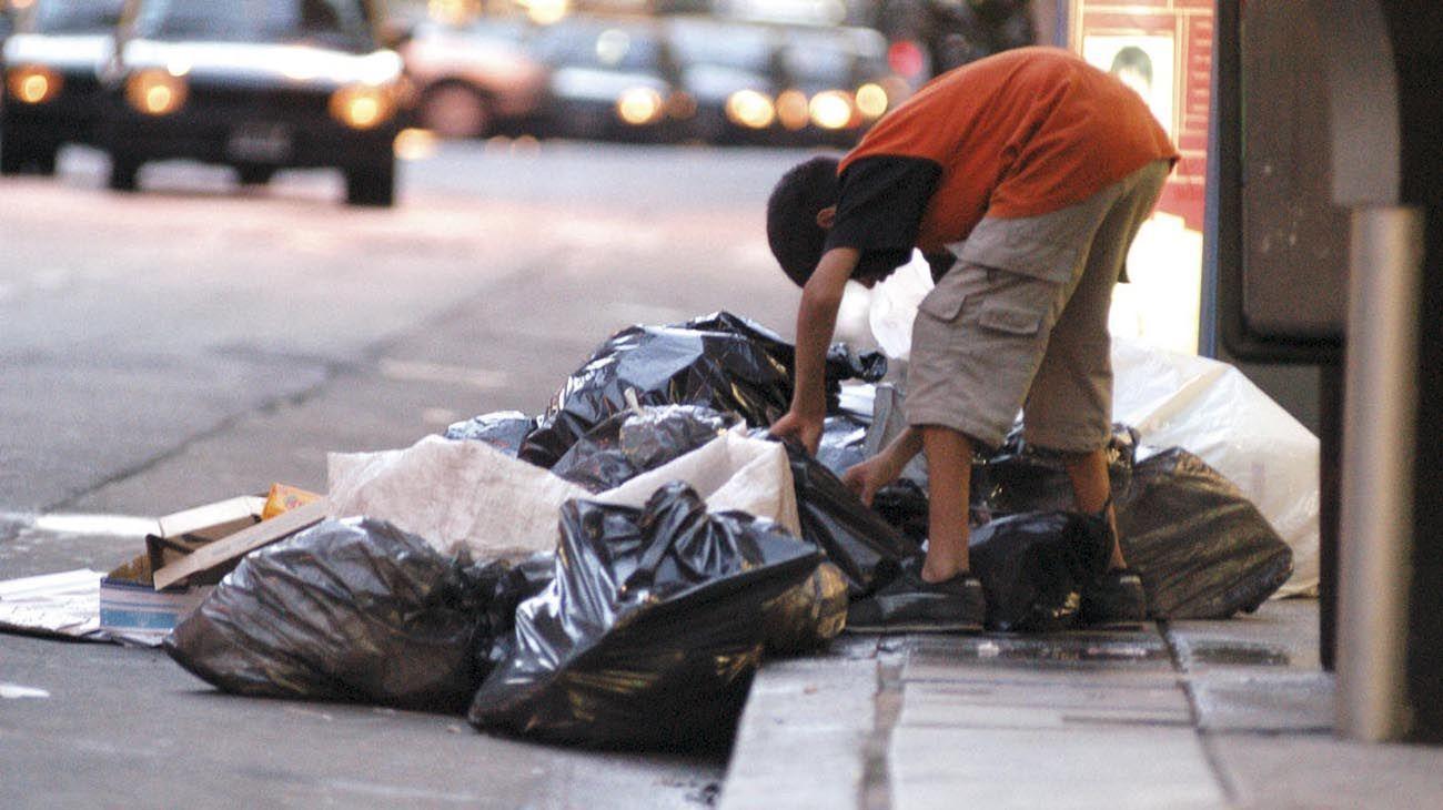 Los chicos, la peor cara de la pobreza.