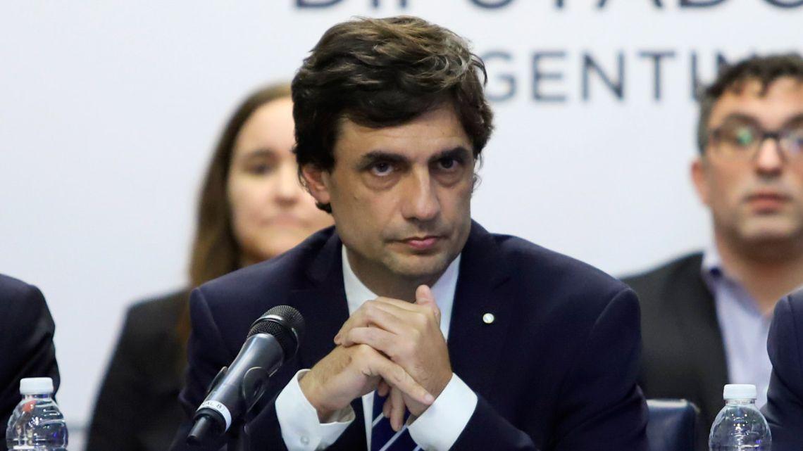 Finance Minister Hernan Lacunza.