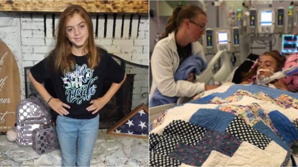 Lily Avant tiene 10 años y permanece internada en Texas, Estados Unidos.