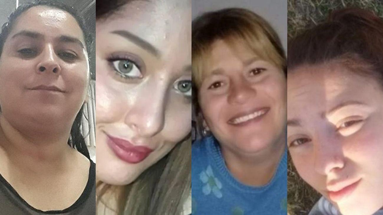 Cuatro mujeres fueron asesinadas durante este fin semana.