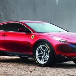 Así imagina la publicación Autocar el primer SUV de Ferrari.