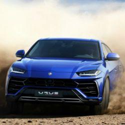 Lamborghini Urus, uno de los futuros competidores del SUV de Ferrari.