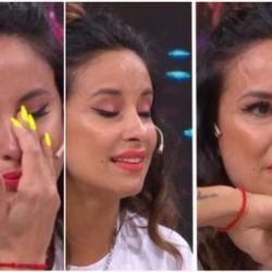Lourdes Sánchez recordó un difícil momento de su vida y rompió en llanto
