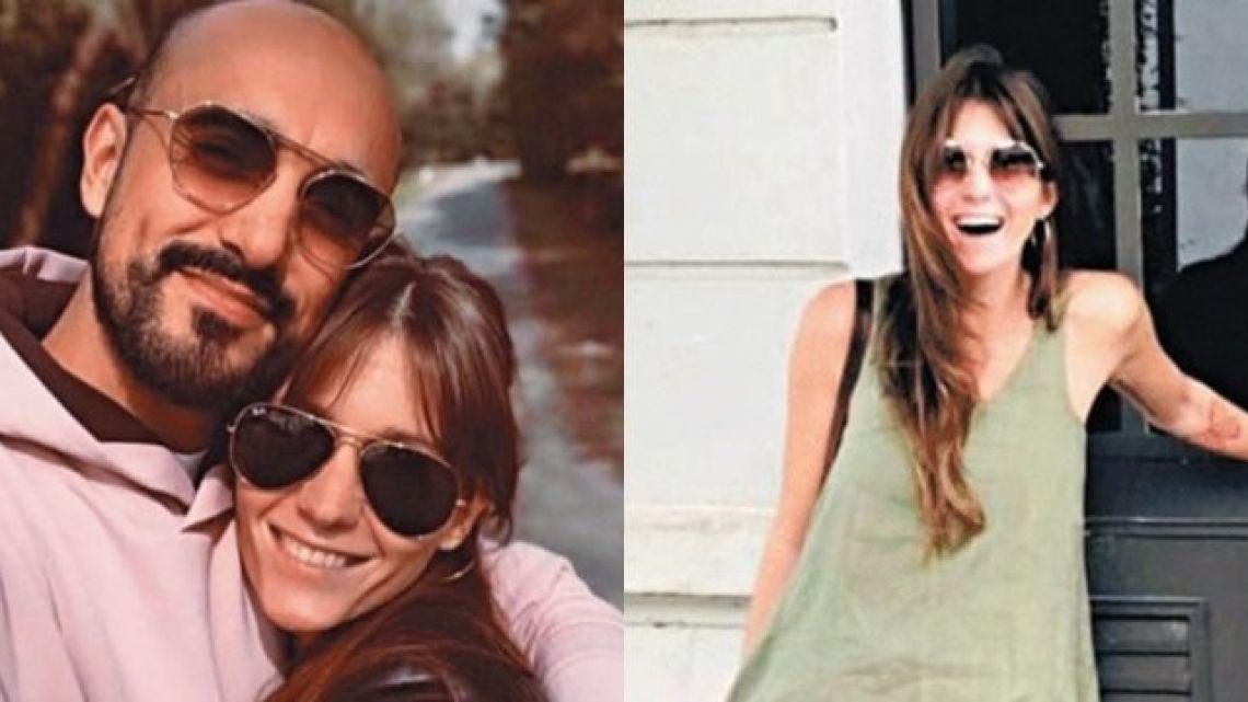 La primera foto de Abel Pintos y su novia chaqueña