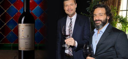 Dos amigos unidos por el vino