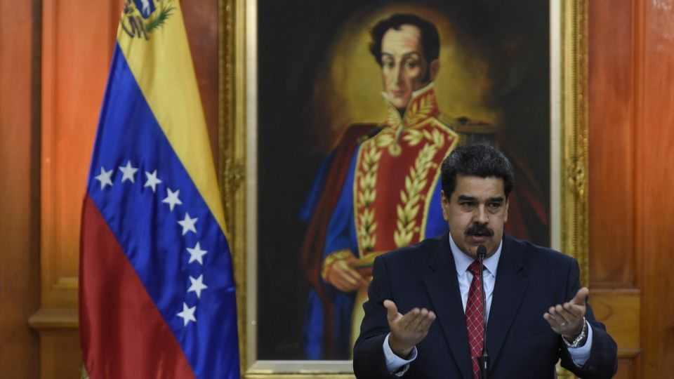 President Maduro Holds Televised Press Conference During Dueling Broadcasts