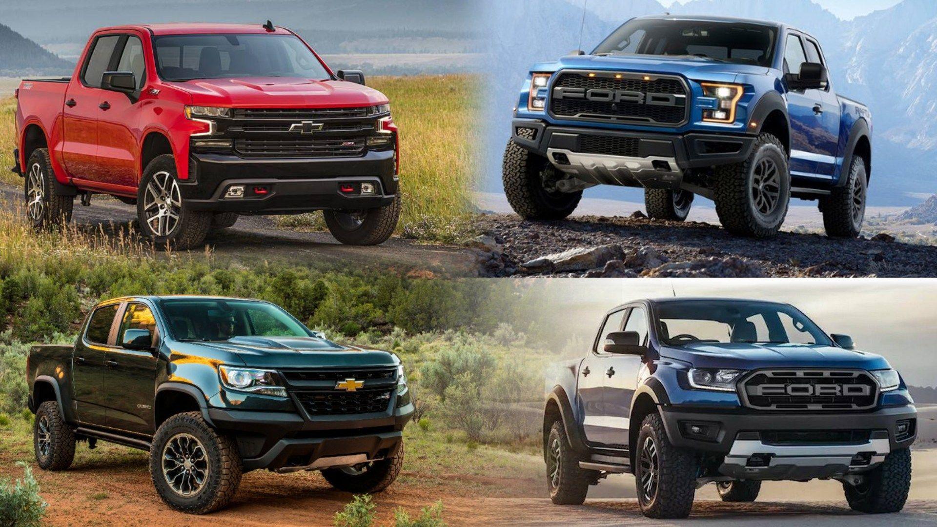 Parabrisas Chevrolet Va Contra Las Raptor De Ford