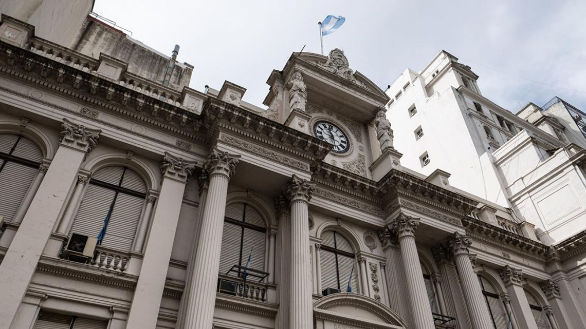 The Central Bank in Buenos Aires.