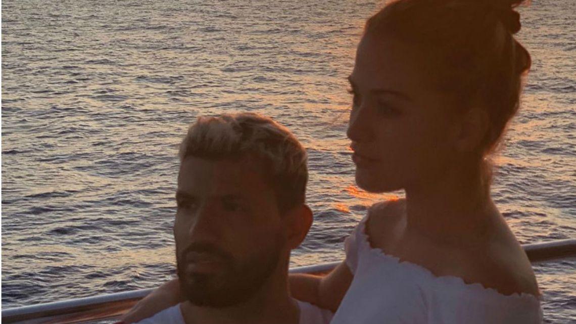 La contundente declaración de amor del Kun Aguero a Sofia Calzetti