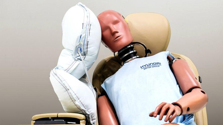 Hyundai desarrolló un nuevo airbag lateral central