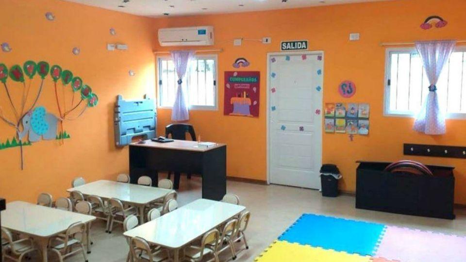 El espacio de primera infancia y jardín, hecho con plata recuperada de la corrupción, que visitará Mauricio Macri.