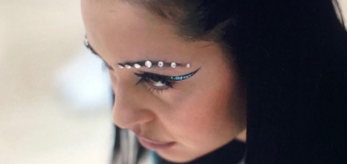 Color, glitter y brillos: cómo tener el maquillaje de Euphoria