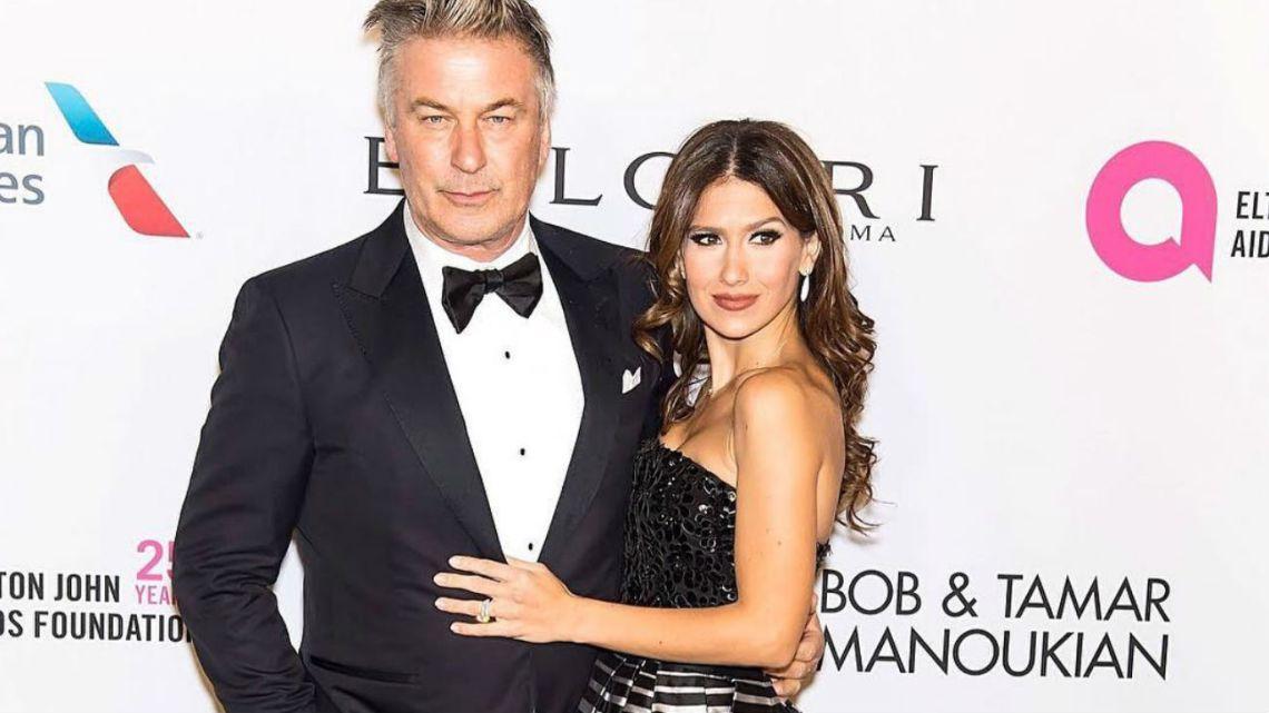 Alec Baldwin y su esposa