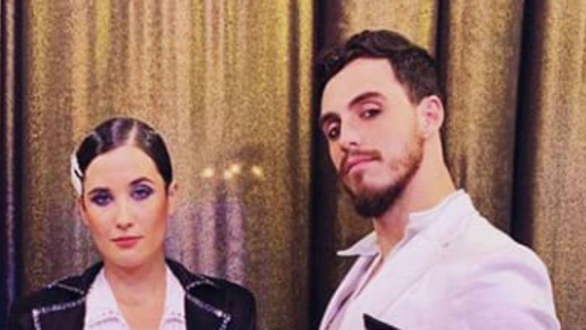 Aparecen más pruebas del romance entre Flor Torrente y su bailarín
