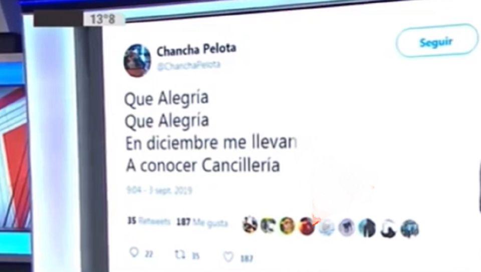 La Chancha Pelota de Felipe Solá