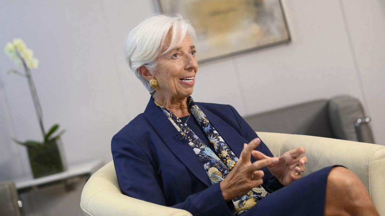 Christine Lagarde, exdirectora del FMI.