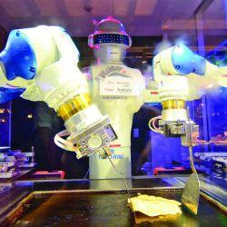 Hotel atendido por robots en la ciudad de Sasebo. Hablan ingles, cantan canciones y también cocinan.