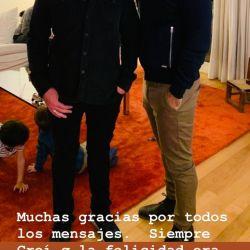 Luis Novaresio blanqueó su noviazgo con Braulio Bauab