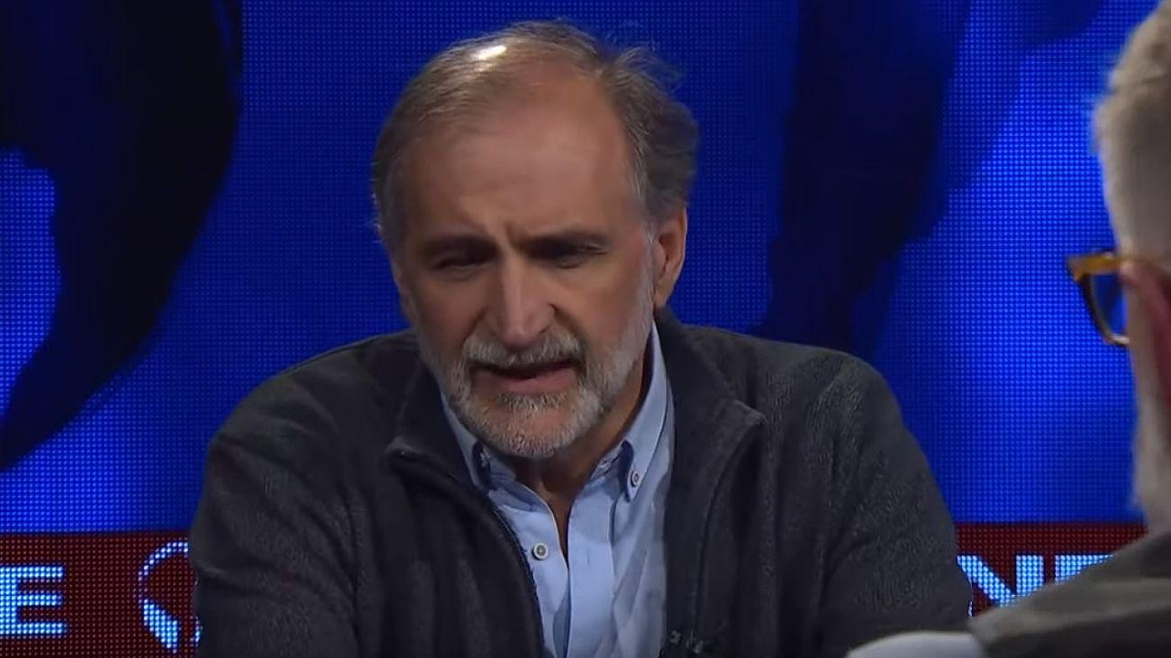 El dirigente social Eduardo Belliboni, del Polo Obrero