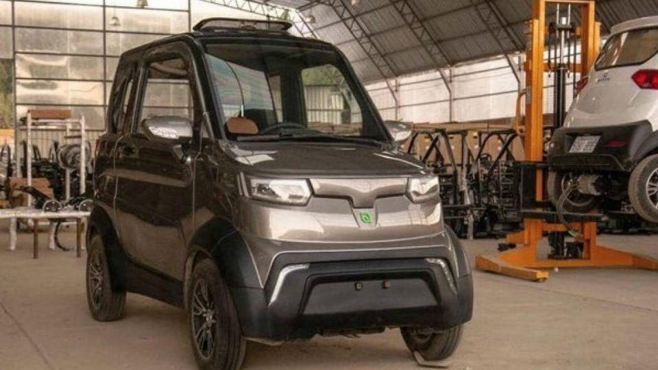 Quantum, el primer auto eléctrico construido en Bolivia.