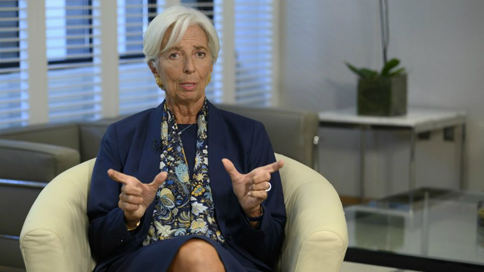 Christine Lagarde, exdirectora del FMI.