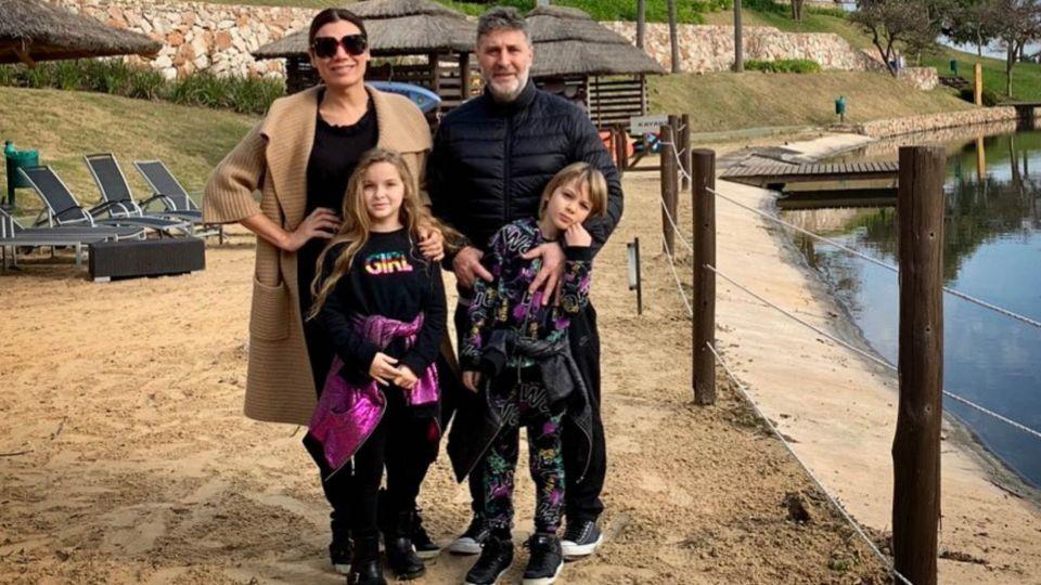 Flor de la V y su marido, Pablo Goycochea, enfrentan rumores de separación
