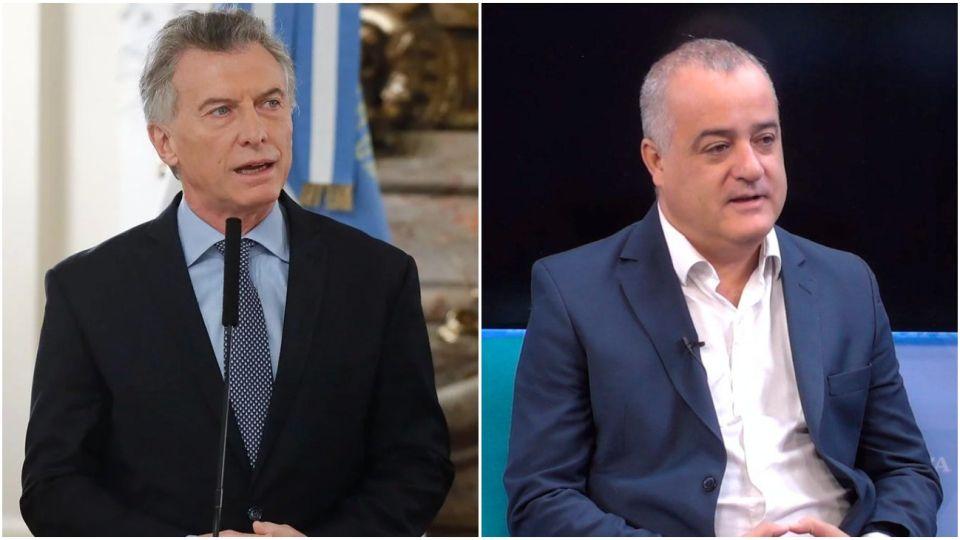 Mauricio Macri se cruzó con el intendente de Tafí Viejo Javier Noguera.