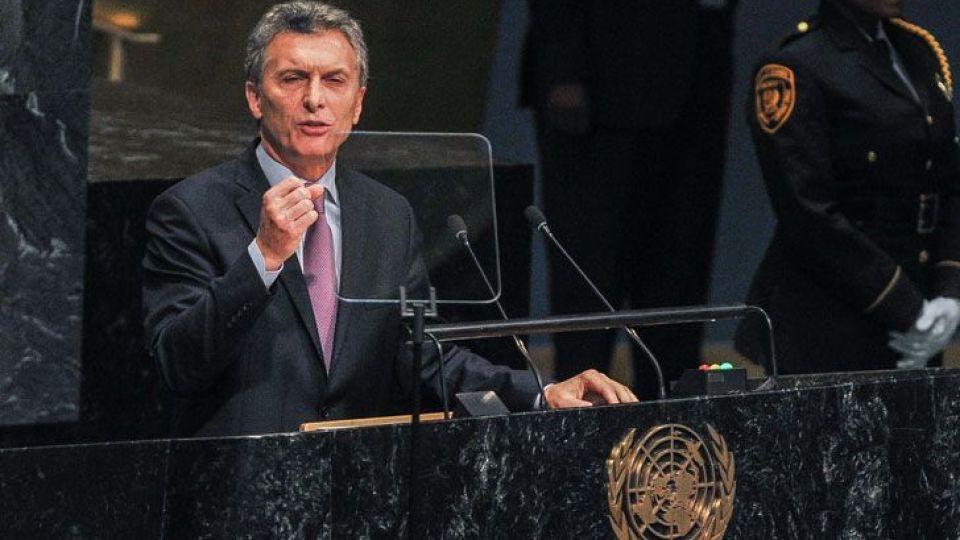 El Presidente estará frente a la ONU.