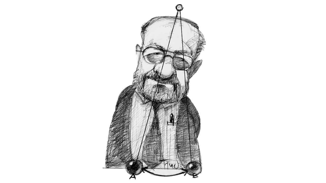 El pendulo de la historia. Umberto Eco.