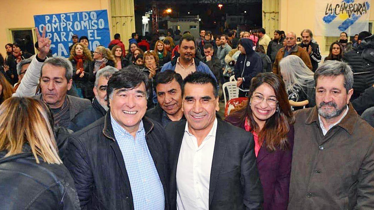 Activo. En junio participó de un acto en Neuquén en donde apoyó la boleta de Alberto Fernández.
