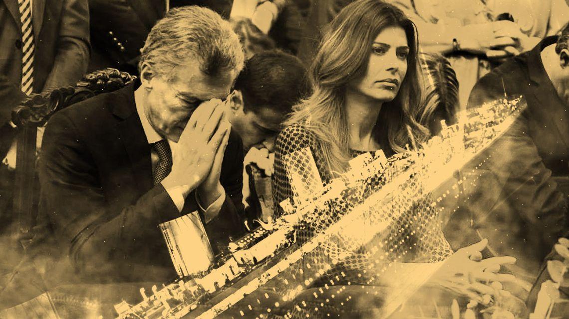 President Macri and his wife, Juliana Awada.