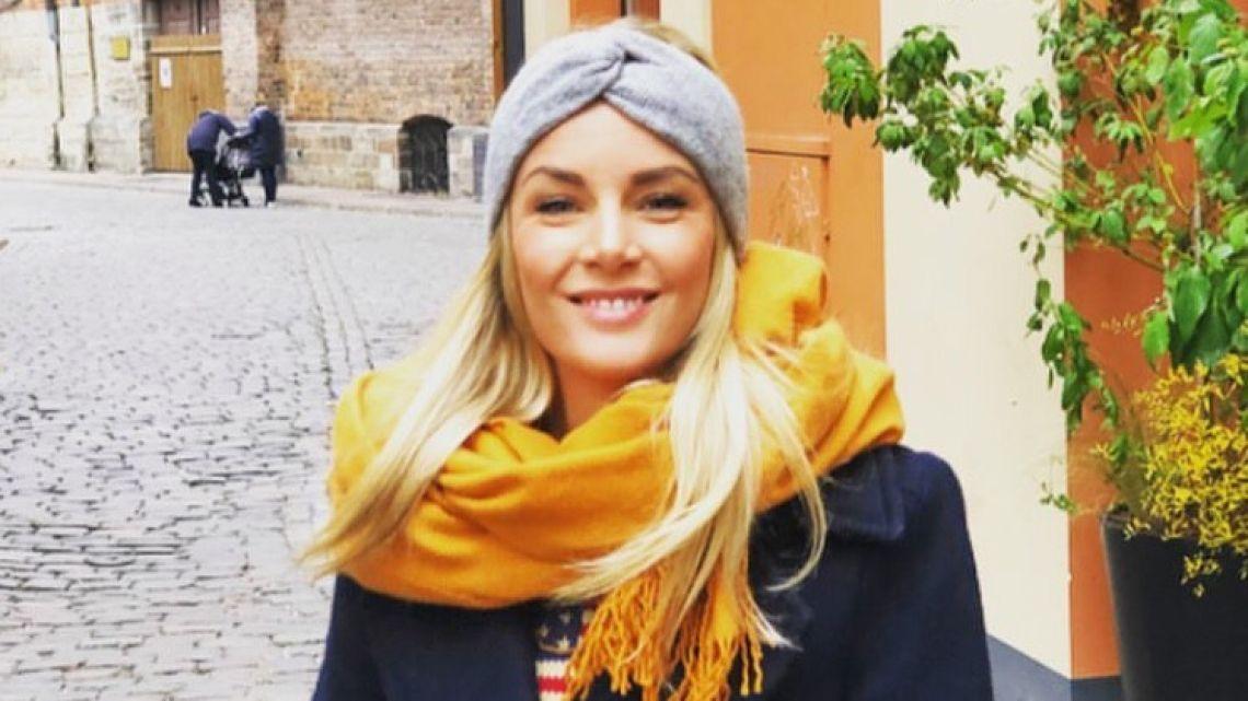La sueca anunció su segundo embarazo