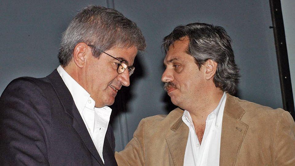 Pasado. El ex ministro de Justicia, Alberto Iribarne, compartió gabinete con Alberto como jefe.