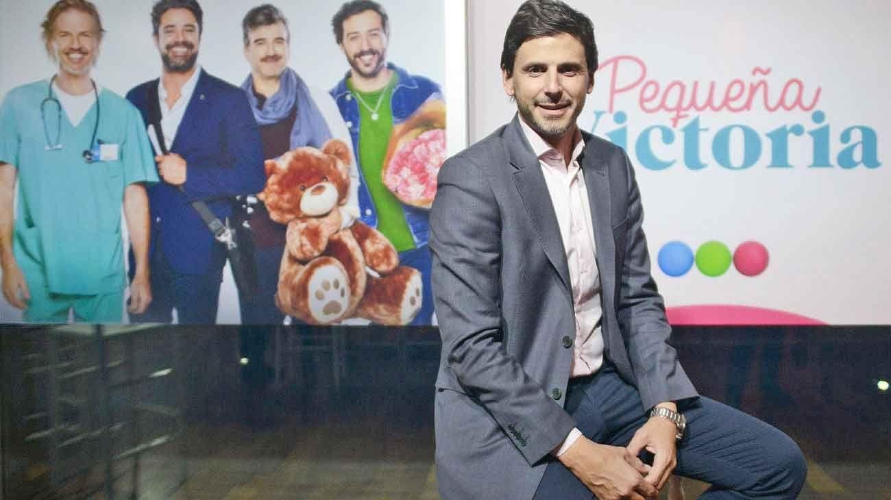 Innovador. Darío Turovelzky ocupa el cargo de SVP de Viacom/Telefe. El director del canal líder afianzó el prime time con Pequeña Victoria.
