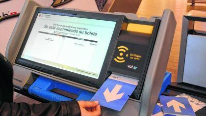 La elección de intendente en Neuquén es con boleta electrónica.