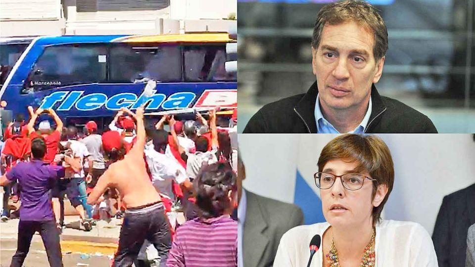 Disparador. El ataque al micro de Boca abrió la discusión. Actores. Santilli, a cargo de dos nuevos partidos de riesgo. Burgos impulsa el proyecto.