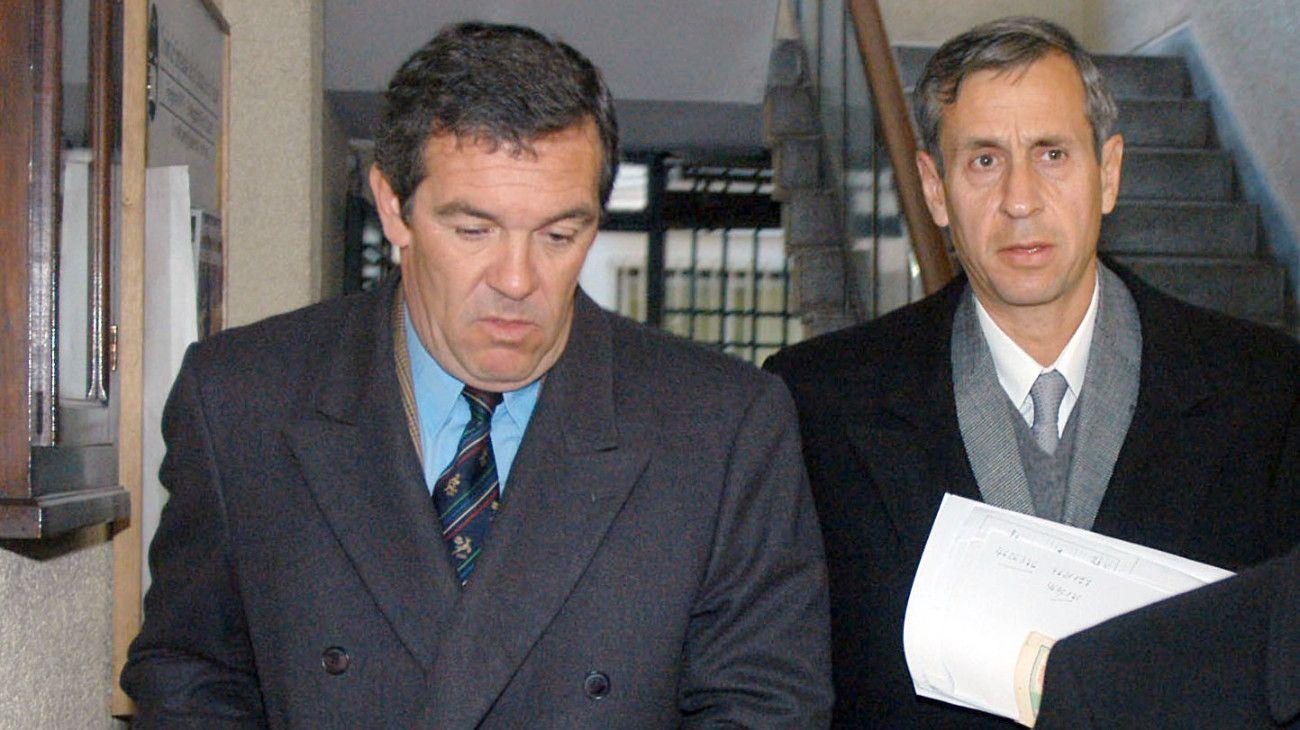 Archivo. El viudo Marcelo Macarrón junto a su abogado.