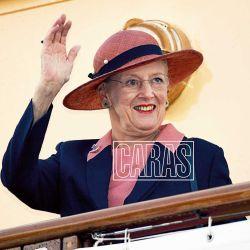 """Conocé a la """"Reina de los sombreros"""", Margarita II, la monarca de Dinamarca"""