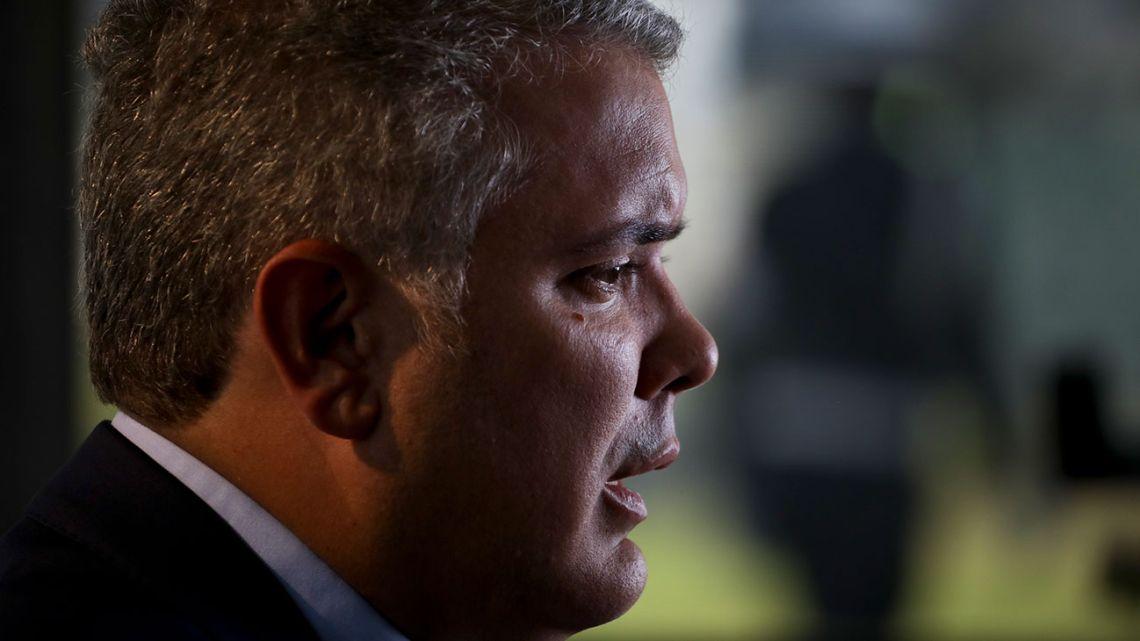 Colombian President Iván Duque.